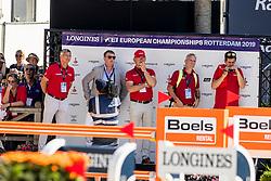 Deusser Daniel, GER, Tobago Z<br /> European Championship Dressage<br /> Rotterdam 2019<br /> © Hippo Foto - Dirk Caremans