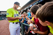 Tim Tebow of the Columbia Fireflies