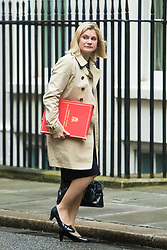 Downing Street,  London, June 27th 2015. International Development Secretary Justine Greening arrives for the first post-Brexit cabinet meeting at 10 Downing Street