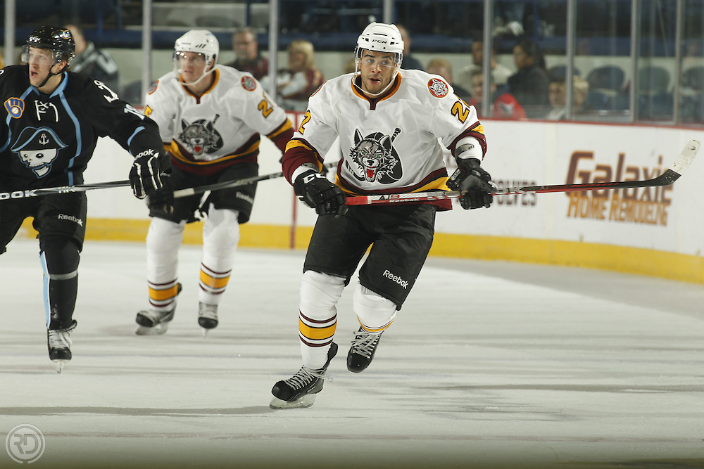 Chicago Wolves 2011-12 Season.Photograph by Ross Dettman..#22 Darren Archibald