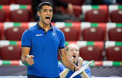 17-10-2015 BUL: Volleyball European Championship Slovenie - Italie, Sofia<br /> Semifinal in Arena Armeec Sofia / Andrea Giani, head coach of Slovenia <br /> Photo: Vid Ponikvar / RHF<br /> +++USE NETHERLANDS ONLY+++