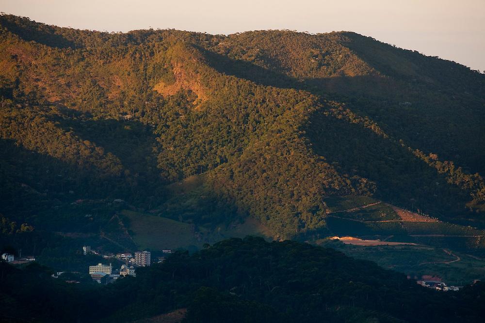 Venda Nova do Imigrante_ES, Brasil...Vista panoramica de Venda Nova do Imigrante...The panoramic view of Venda Nova do Imigrante...Foto: LEO DRUMOND / NITRO
