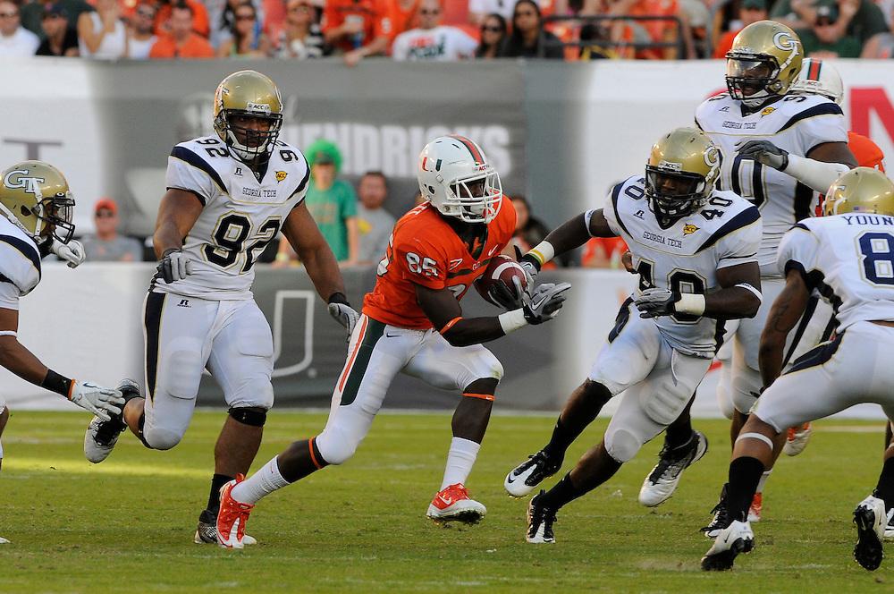 2011 Miami Hurricanes Football vs Georgia Tech