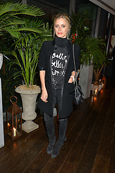 LAURA BAILEY at a party to celebrate the Astley Clarke & Theirworld Charitable Partnership held at Mondrian London, Upper Ground, London on 10th March 2015.