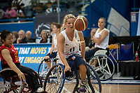 Toronto, Ontario, Canada. 23rd June, 2014. World Women's Wheelchair Basketball Championships, Mattamy Athletic Centre, Toronto Ontario, Canada, Great Britain v China - Madeleine Thompsan (GBR) © Peter Llewellyn/Alamy Live News