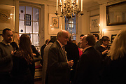 NICHOLAS COLERIDGE; ANDREW ROBERTS, The launch of Fire Child by Sally Emerson. Hosted by Sally Emerson and Naim Attalah CBE. Dean St. London. 22 March 2017