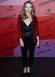 December 4, 2018 - Los Angeles, California, United States - LOS ANGELES, CA, USA - DECEMBER 04: Actress Jade Pettyjohn arrives at the Refinery29 29Rooms Los Angeles 2018: Expand Your Reality Opening Party held at The Reef A Creative Habitat on December 4, 2018 in Los Angeles, California, United States. (Credit Image: © face to face via ZUMA Press)