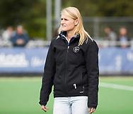 AMSTELVEEN - assistent coach Marieke Dijkstra (Pinoke) .Hoofdklasse competitie heren. Pinoke-SCHC (0-1) . COPYRIGHT  KOEN SUYK