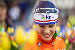 11-12-2016 NED: ISU World Cup Speed Skating, Heerenveen<br /> Marrit Leenstra pakt zilver op de 1000 m