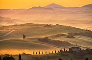 Europe, Italy, Tuscany, Toscana, Siena, The Val d'Orcia, landscape