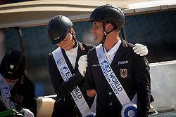 Mispelkamp Regine, Zeibig Steffen, GER,<br /> World Equestrian Games - Tryon 2018<br /> © Hippo Foto - Sharon Vandeput<br /> 21/09/2018