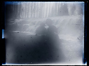 fading portrait by waterfall France 1921