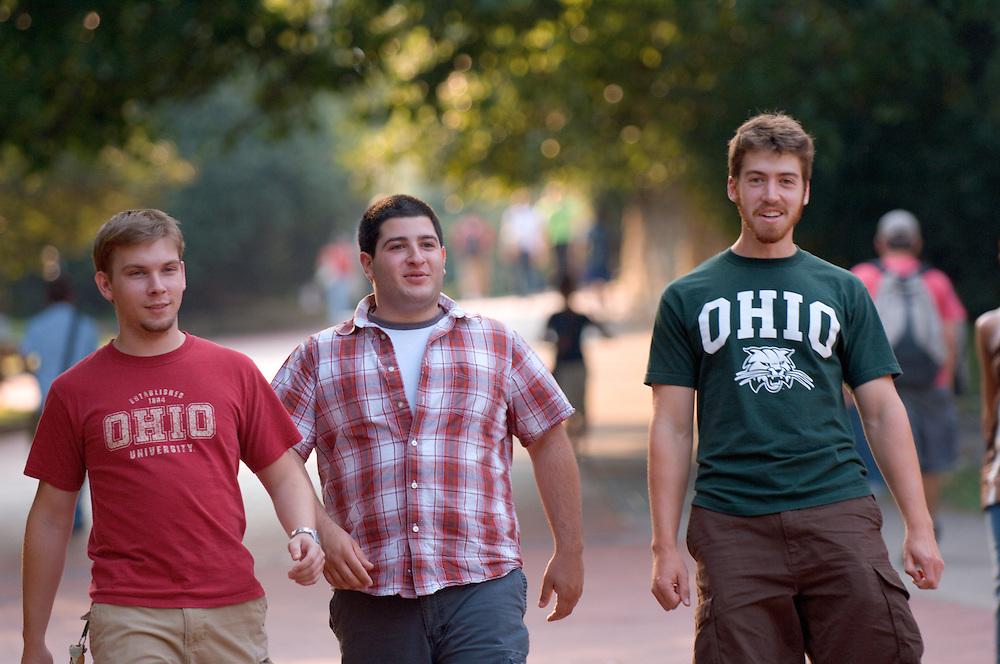Jnathan Olivito(green shirt), Alias Berbari, Rob Vanyo(red shirt)