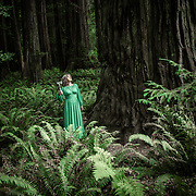 Conceptual, self-portrait, photographs taken in natural locations by photographer Janelle Pietrzak aka Explored Exposure.