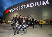 Fans during the Rugby Championship match between the New Zealand All Blacks & South Africa at Westpac Stadium, Wellington on Saturday 27th July 2019. Copyright Photo: Grant Down / www.Photosport.nz