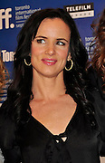13.SEPT.2010. TORONTO<br /> <br /> JULIETTE LEWIS ATTENDS THE PRESS CONFRENCE OF NEW FILM CONVICTION AT THE 35TH TORONTO FILM FESTIVAL IN TORONTO.<br /> <br /> BYLINE: EDBIMAGEARCHIVE.COM<br /> <br /> *THIS IMAGE IS STRICTLY FOR UK NEWSPAPERS AND MAGAZINES ONLY*<br /> *FOR WORLD WIDE SALES AND WEB USE PLEASE CONTACT EDBIMAGEARCHIVE - 0208 954 5968*
