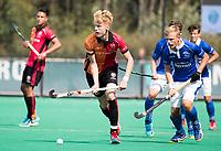 ROTTERDAM - Joep de Mol (Oranje-Rood)   tijdens de wedstrijd om de derde plaats , Kampong- Oranje Rood , bij de ABN AMRO cup. COPYRIGHT KOEN SUYK