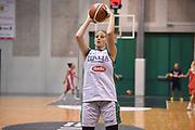 Laura Spreafico<br /> Nazionale Italiana Femminile Senior - Allenamento<br /> FIP 2018<br /> Treviso, 13/08//2018<br /> Foto GiulioCiamillo / Ciamillo-Castoria