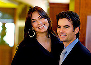NASCAR driver Jeff Gordon and his wife, Ingrid, tour the Jeff Gordon Children's Hospital during the grand opening ceremony in Concord, N.C., Saturday, Dec. 16, 2006. (AP Photo/Mike McCarn)