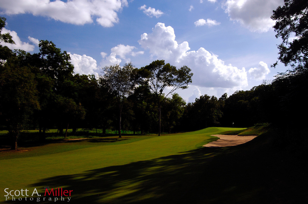 September 8, 2007, Lost Pines, Texas; Hole No. 13 at Wolfdancer Golf Club......©2007 Scott A. Miller