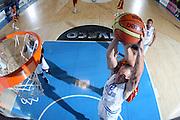 BORMIO 29 LUGLIO 2011<br /> BASKET FIP<br /> NAZIONALE ITALIANA PALLACANESTRO<br /> ITALIA MACEDONIA<br /> NELLA FOTO CUSIN<br /> FOTO CIAMILLO