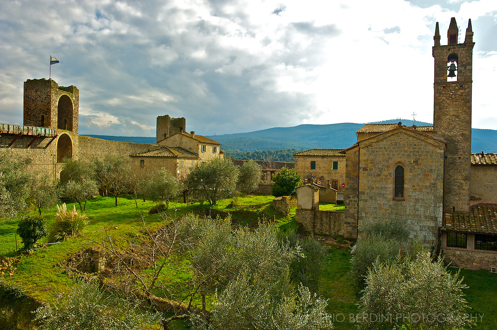 Monteriggioni. Tuscany. Italy.