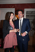 WHITNEY HINTZ; ELLIOT MACDONALD;  Dinner to celebrate the opening of Pace London at  members club 6 Burlington Gdns. The dinner followed the Private View of the exhibition Rothko/Sugimoto: Dark Paintings and Seascapes.