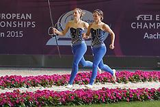 Pas de Deux Freestyle Test Vaulting Aachen 2015