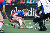 DEN BOSCH -Marise Jongepier van SCHC  tijdens de  de tweede finale wedstrijd tussen de vrouwen van Den Bosch en SCHC (2-0)  . Den Bosch behoudt de titel. COPYRIGHT  KOEN SUYK