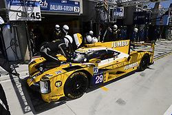 June 17, 2017 - Le Mans, France - 29 RACING TEAM NEDERLAND (NDL) DALLARA P217 GIBSON LMP2 JAN LAMMERS (NLD) FRITS VAN EERD (NLD) RUBENS BARRICHELLO  (Credit Image: © Panoramic via ZUMA Press)