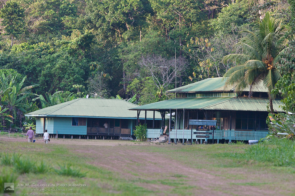 Sirena Biological Station and airstrip, Corcovado National Park - Costa Rica