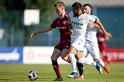 Nemanja Jaksic of NK Aluminij during football match between NK Triglav Kranj and NK Aluminij in 2nd Round of Prva liga Telekom Slovenije 2018/19, on July 28, 2018 in Sports park Kranj, Kranj, Slovenia. Photo by Urban Urbanc / Sportida