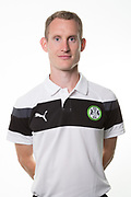 Forest Green Rovers strength and conditioning coach Tom Huelin during the Forest Green Rovers Photocall at the New Lawn, Forest Green, United Kingdom on 31 July 2017. Photo by Shane Healey.