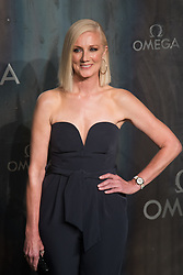 Tate Modern, London, April 26th 2017. Joely Richardson arrives at the Tate Modern in London for the 'Lost In Space' 60th anniversary event for the Omega Speedmaster watch.