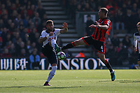 Football - 2016 / 2017 Premier League - AFC Bournemouth vs. Tottenham Hotspur<br /> <br /> Bournemouth's Dan Gosling wins a loose ball from Kyle Walker of Tottenham Hotspur at Dean Court (The Vitality Stadium) Bournemouth<br /> <br /> COLORSPORT/SHAUN BOGGUST