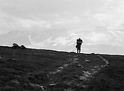 1973 | Vandrare på väg mot Sylarna i Jämtlandsfjällen