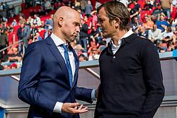 24-09-2017 NED: FC Utrecht - PSV, Utrecht<br /> Coach Erik ten Hag of FC Utrecht, Coach Phillip Cocu of PSV