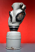 deteriorating gas mask