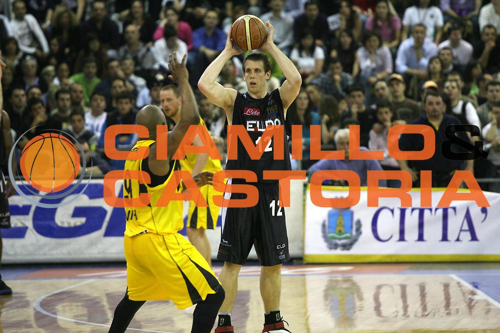 DESCRIZIONE : Scafati Lega A1 2006-07 Legea Scafati Eldo Napoli <br /> GIOCATORE : Rocca <br /> SQUADRA : Eldo Napoli <br /> EVENTO : Campionato Lega A1 2006-2007 <br /> GARA : Legea Scafati Eldo Napoli <br /> DATA : 15/04/2007 <br /> CATEGORIA : <br /> SPORT : Pallacanestro <br /> AUTORE : Agenzia Ciamillo-Castoria/G.Ciamillo