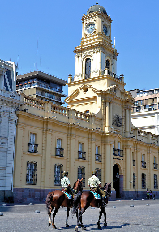 Palacio de la Real de la Audiencia in Santiago, Chile<br />