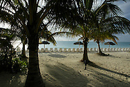 A morning view from the beach in Freeport, Bahamas.