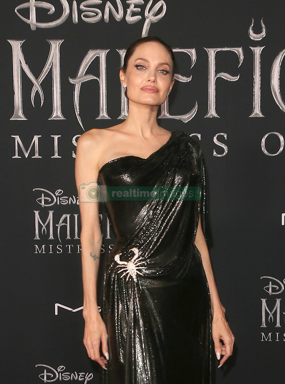 "October 2, 2019, La, United States of America: Angelina Jolie arriving at the World Premiere Of Disney's ""Maleficent: Mistress Of Evil'' at the El Capitan Theatre on September 30, 2019 in Los Angeles, California  (Credit Image: © Famous/Ace Pictures via ZUMA Press)"