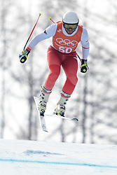 10.02.2018, Jeongseon Alpine Centre, Pyeongchang, KOR, PyeongChang 2018, Ski Alpin, Herren, Abfahrt, Training, im Bild Michal Klusak (POL) // Michal Klusak of Poland during the Mens Ski Alpine Downhill Training of the Pyeongchang 2018 Winter Olympic Games at the Jeongseon Alpine Centre in Pyeongchang, South Korea on 2018/02/10. EXPA Pictures © 2018, PhotoCredit: EXPA/ Johann Groder