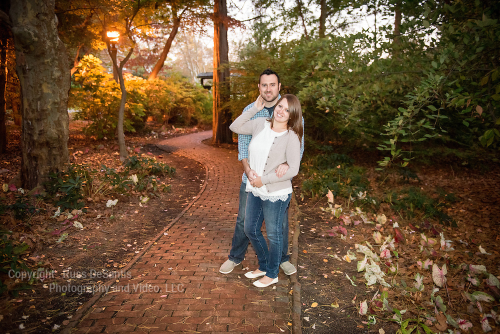 Steven Weinblatt and Nikki Bertiger photographed at Sayen Gardens in Hamilton Twp., NJ, on October 15, 2015. /Russ DeSantis Photography and Video, LLC