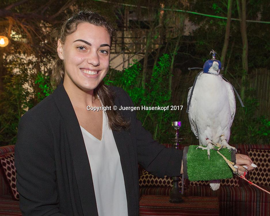 ANA KONJUH (CRO), Dubai WTA Players Party<br /> <br /> Tennis - Dubai Duty Free Tennis Championships - WTA -  Players Party - Dubai -  - United Arab Emirates  - 22 February 2017. <br /> &copy; Juergen Hasenkopf