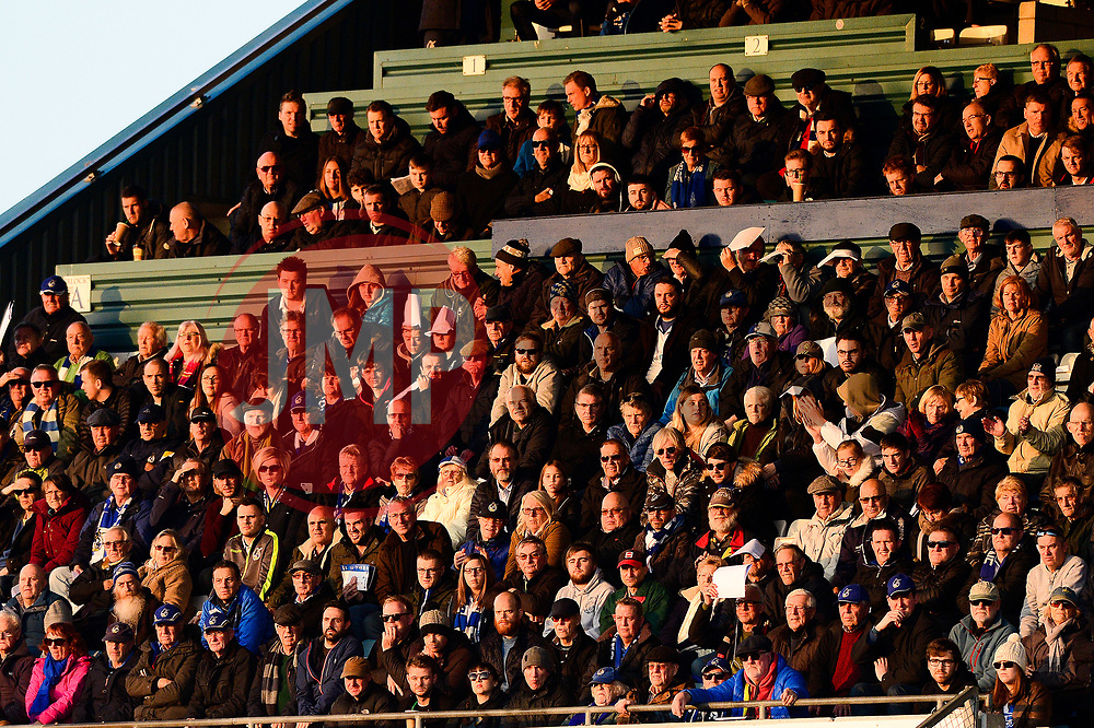 Bristol Rovers fans look on from the stands  - Mandatory by-line: Dougie Allward/JMP - 17/11/2018 - FOOTBALL - Memorial Stadium - Bristol, England - Bristol Rovers v Scunthorpe United - Sky Bet League One