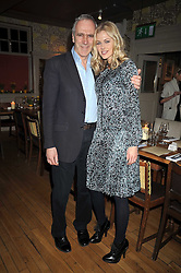 PATRICK HOLDEN director of the Soil Association and DONNA AIR at a dinner in aid of the Soil Association held at Bumpkin, 102 Old Brompton Road, London SW7 on 11th March 2009.