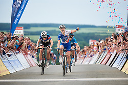 Rozanne Slik (NED) wins Lotto Thuringen Ladies Tour 2018 - Stage 5, a 102.9 km road race starting and finishing in , Germany on June 1, 2018. Photo by Sean Robinson/velofocus.com