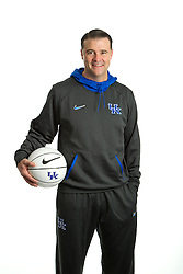 University of Kentucky Women's head basketball coach Matthew Mitchell photographed for Kennedy's Bookstore, Tuesday, Oct. 30, 2012in Lexington.