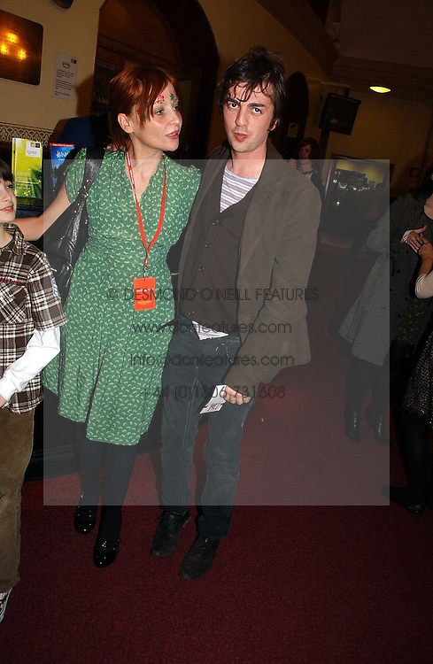 PEARL LOWE and DEAN GOFFEY at the opening night of Cirque Du Soleil's 'Alegria' held at the Royal Albert Hall, London on 5th January 2007.<br /><br />NON EXCLUSIVE - WORLD RIGHTS